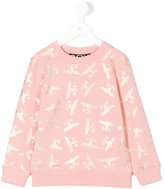 Boy London Boy Repeat sweatshirt - kids - Cotton/Spandex/Elastane - 5 yrs