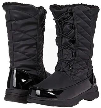 Tundra Boots Kids Samara (Little Kid/Big Kid) (Black) Girls Shoes