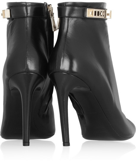 Proenza Schouler Leather peep-toe ankle boots