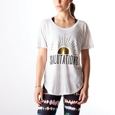 Lucy Graphic Tee - Salutations