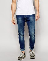 Lee Jeans Luke Skinny Fit Sea Splash Dark Wash