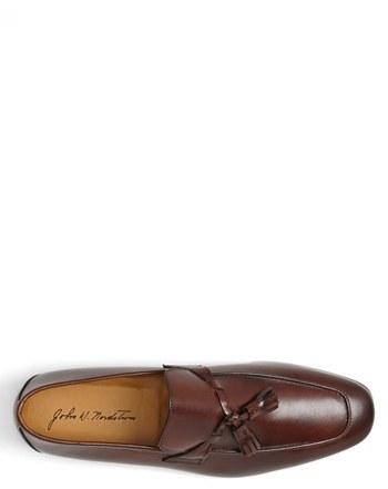 John W. Nordstrom Men's 'Ethan' Loafer, Size 11.5 M - Black