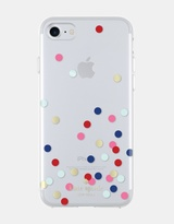 Kate Spade Hardshell Case for iPhone 7 - Confetti Dot Gold