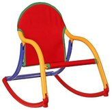 Hoohobbers Rocking Chair, Primary Canvas by