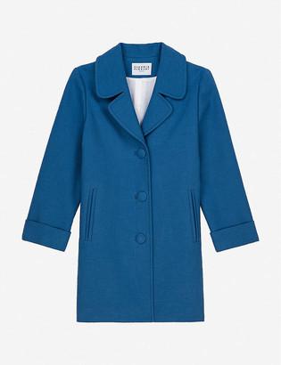 Claudie Pierlot Glenn cotton-blend coat