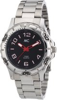 MC M&c Men's Quartz Watch 27082 with Metal Strap
