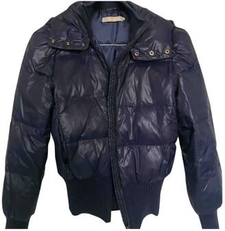 Stefanel Blue Polyester Coats