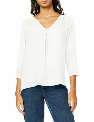 Vero Moda Women's Vmeva 3/4 V-Neck Top Ga Color Long Sleeve