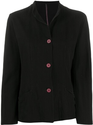 Giorgio Armani Pre-Owned 1990s Contrast Button Jacket