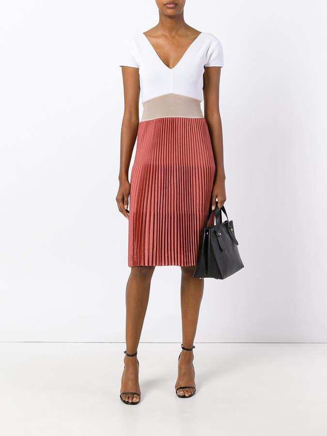 Agnona pleated short dress