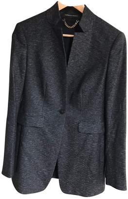 Porsche Design Anthracite Wool Jacket for Women