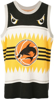 Just Don Shark Basketball Vest Top