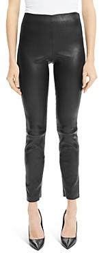 Theory Skinny Leather Leggings