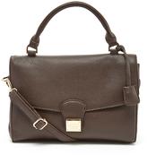 BCBGMAXAZRIA Brown Top Handle Crossbody Bag