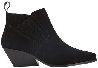 Kenzo Suede riding boots