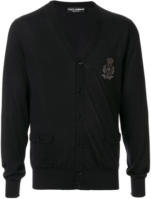 Dolce & Gabbana Knitted Patch Cardigan