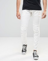 G Star G-Star Jeans Elwood 5620 3d Super Slim Stretch 3d White Raw