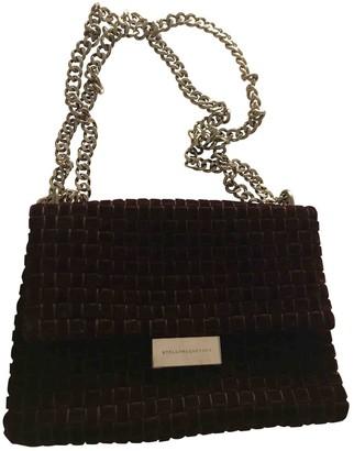 Stella McCartney Stella Mc Cartney Burgundy Velvet Handbags
