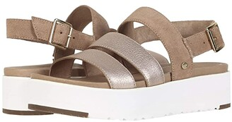 UGG Braelynn (Rose Gold) Women's Sandals
