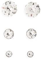 Girl's Tomas Set Of 3 Crystal Stud Earrings