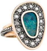 Moritz Glik Opal & Diamond Ring