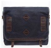 Will Leather Goods Men's 'Mt. Hood' Messenger Bag - Blue