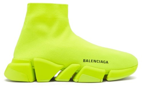 Balenciaga Speed 2.0 Trainers - Yellow