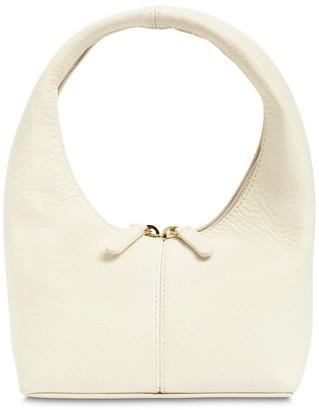 Frenzlauer Mini Grained Leather Panier Bag