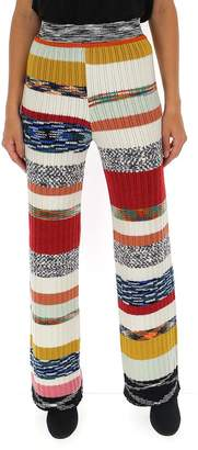 Missoni Contrasting Panelled Knitted Pants