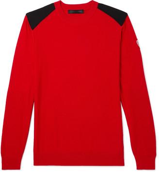 Canada Goose Dartmouth Cordura-Panelled Merino Wool Sweater