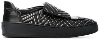 Sergio Rossi studded skater sneakers