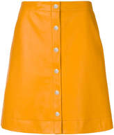 Paul Smith button-down A-line skirt