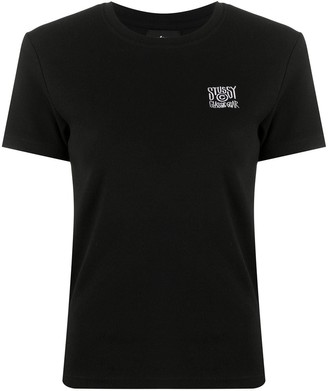 Stussy embroidered crew neck T-Shirt