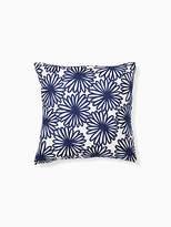 Kate Spade Daisy crewel pillow