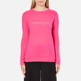 Bella Freud Women's Woman Cashmere Jumper Pink