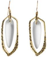 Alexis Bittar Lucite Crystal Drop Earrings