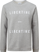 Libertine-libertine Alka East Logo Sweater, Grey