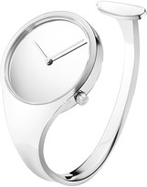 Georg Jensen Vivianna stainless steel bangle watch 34mm