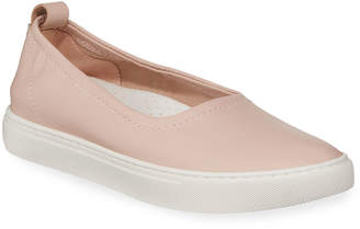 Kenneth Cole Kam Ballet Leather Slip-On Sneakers