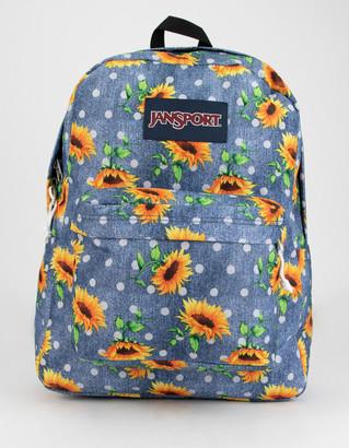 JanSport SuperBreak Sunflowers Backpack