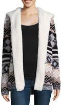 Arizona Soft Cardigan Sweater-Juniors