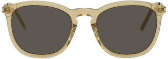 Saint Laurent Yellow SL 360 Sunglasses