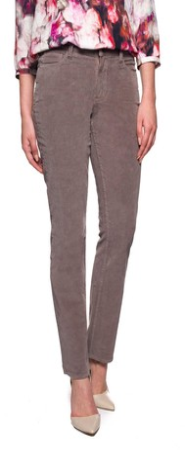 NYDJ Women's Marilyn Straight Straight Leg Trousers - Brown - 8