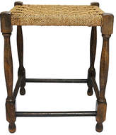 One Kings Lane Vintage Antique English Handwoven Rope Stool