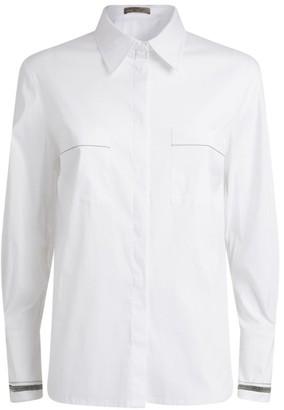 D-Exterior D.Exterior Beaded Poplin Shirt