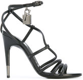 Tom Ford strappy sandals - women - Calf Leather/Leather - 37