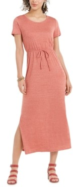 Style&Co. Style & Co Petite Drawstring-Waist Maxi Dress, Created for Macy's
