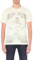 Diesel T-joe-ho graphic-print cotton T-shirt