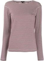 Aspesi long sleeve striped-knit pullover
