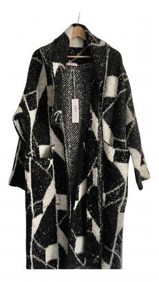 Stefanel Black Wool Coats